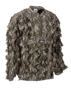 Mossy Oak Bottomland Leafy Pullover - 1/2 Zip - Without Hood