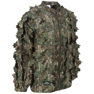 Mossy Oak Greenleaf Leafy Jacket - Full Zip - Without Hood