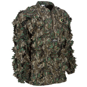 Mossy Oak Greenleaf Leafy Pullover - 1/2 Zip - Without Hood
