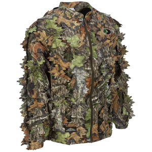 Mossy Oak Obsession Leafy Jacket - Full Zip - Without Hood