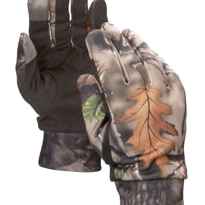 Camouflage Hunting Gloves - Touch Screen Compatible - Fall Brown-North Mountain Gear