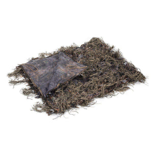 Ghillie Netting - Blanket - 6 FT x 4.5 FT Woodland Brown-North Mountain Gear