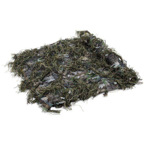 Ghillie Netting - Blanket - 6 FT x 4.5 FT Woodland Green-North Mountain Gear