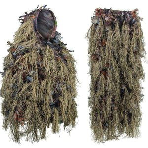 Hybrid Ghillie Suit Woodland Brown-North Mountain Gear