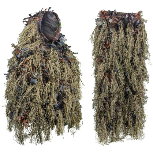 NMG Hybrid Ghillie Suit Brown-North Mountain Gear