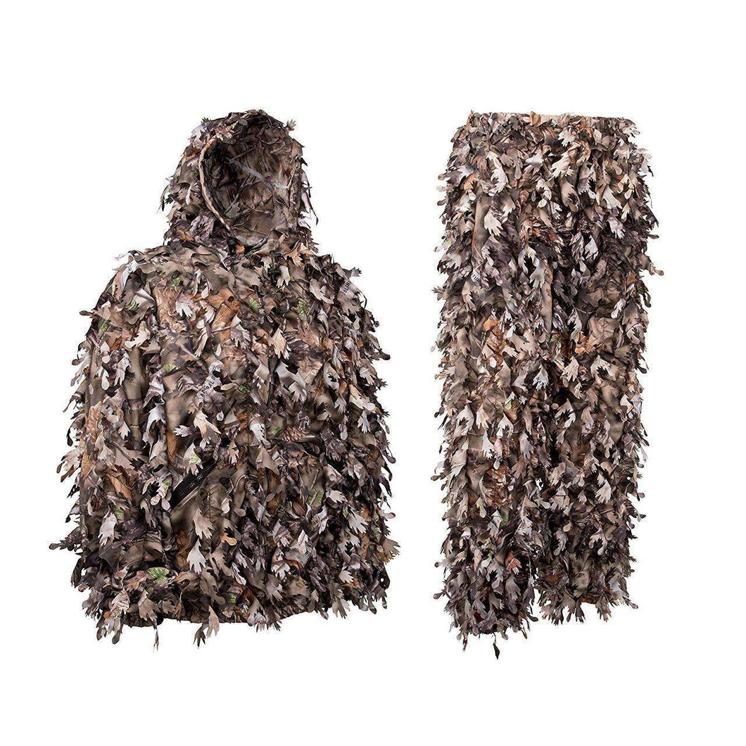 Premium Light Weight Solid Shell Woodland Brown Leafy Suit-North Mountain Gear