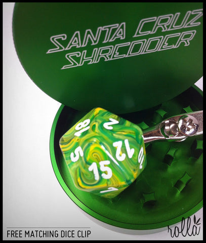Santa Cruz 2 Piece Shredder  - GREEN