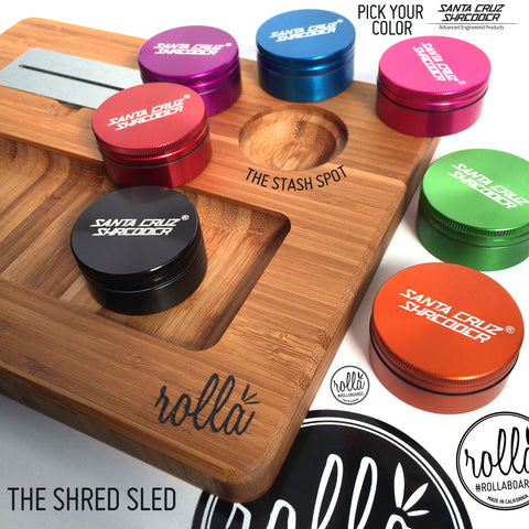 Shred Sled by RollaBoards™ - SOLO