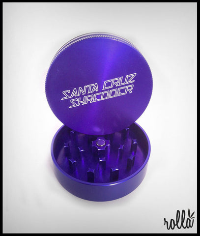 Santa Cruz 2 Piece Shredder  - Purple