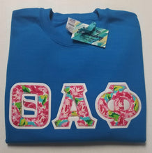 Load image into Gallery viewer, Floral Letters - Short Sleeve Crew Neck T-Shirt  - Gildan