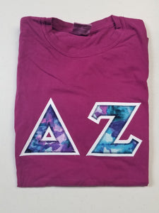 Delta Zeta Comfort Color Crew Neck