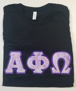 Alpha Phi Omega Bella-Canvas T-Shirts  - Ready to Ship