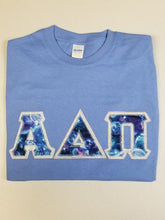 Load image into Gallery viewer, Custom Galaxy Letters - Short Sleeve Gildan Crew Neck T-Shirt