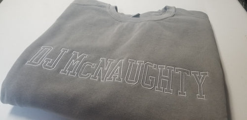 DJ McNaughty Monochrome Comfort Color Sweatshirt