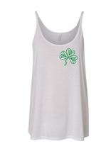 Load image into Gallery viewer, DJ McNaughty Clover Slouchy Tank