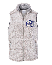 Load image into Gallery viewer, Monogrammed Sherpa Vest - Womens
