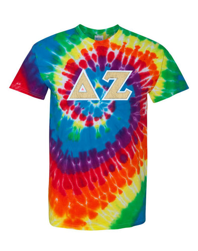 Custom Tie-Dye Greek Letter Shirt