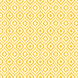 Yellow Ikat - Single Card