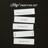 Hey! Greetings Set