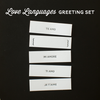 Love Languages Greetings Set