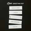 Love Greetings Set