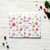 Personalized Box Set - Holly Jolly - Holiday Set of 8 Cards