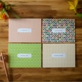 Personalized Box Set - Hello Goodbye - Pattern Set of 8 Assorted Cards