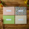 Hello Goodbye - Pattern Set of 8 Assorted Cards