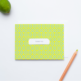 Trellis Pattern - Single Card