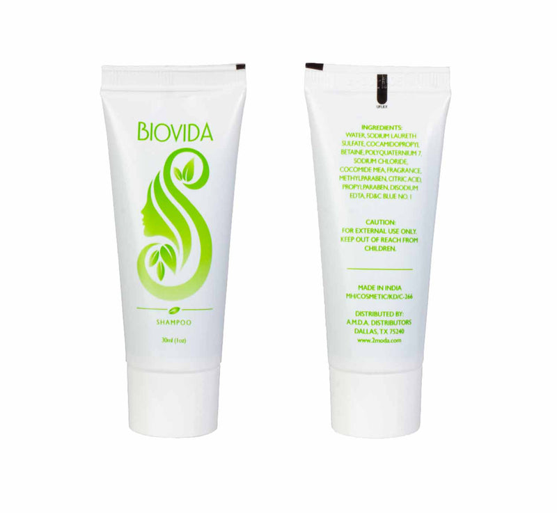 BIOVIDA - 588 Count - Hotel 1 oz Shampoo and 1 oz Soap in Bulk, Travel Size