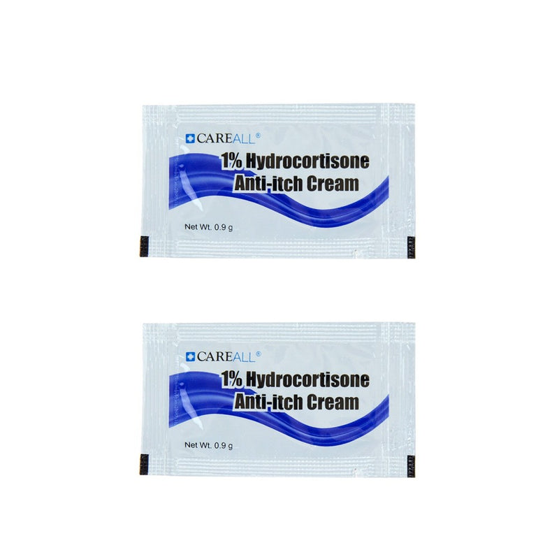Wholesale .9g Hydrocortisone Cream Packet (Cortaid) - Case of 1728 Pieces Bulk Toiletries -