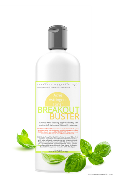 Breakout Buster Acne Astringent Toner for Guys and Gals - Bulk