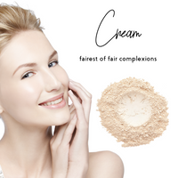 Cream - Sheer Coverage Luminous Loose Mineral Foundation - Ready to Label