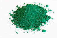 Hydrated Chromium Oxide Green (Teal Green) - Mineral Makeup Ingredient