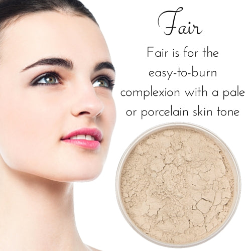 Fair - Full Coverage Matte Loose Mineral Foundation - Ready to Label