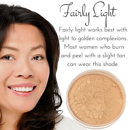 Fairly Light - Full Coverage Matte Loose Mineral Foundation - Ready to Label