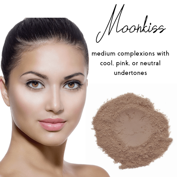 Moonkiss - Sheer Coverage Luminous Loose Mineral Foundation - Ready to Label