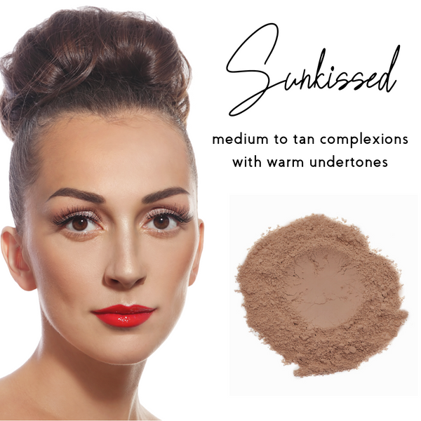 Sunkissed - Sheer Coverage Luminous Loose Mineral Foundation - Ready to Label