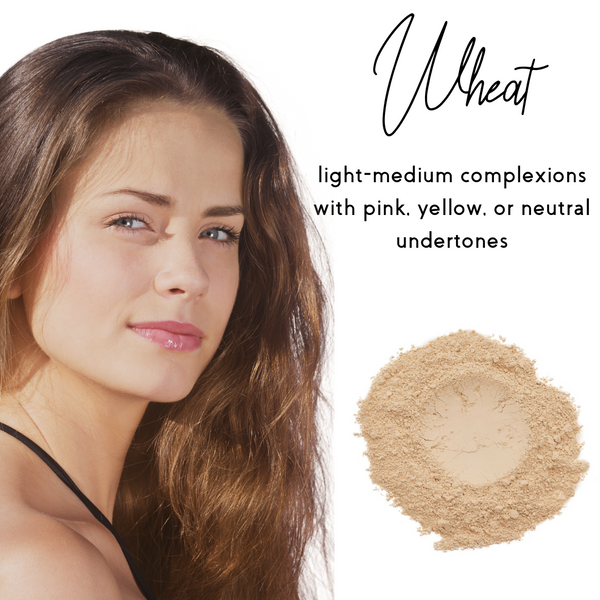 Wheat - Sheer Coverage Luminous Loose Mineral Foundation - Ready to Label