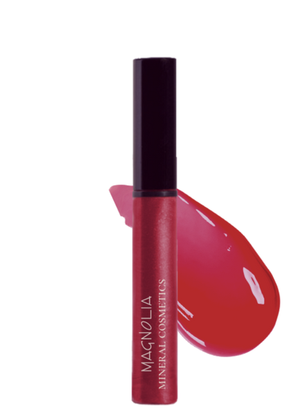 Clearly Red - Jojoba Hydrating Glossy Lip Shine
