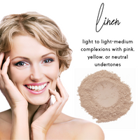 Linen - Sheer Coverage Luminous Loose Mineral Foundation - Bulk