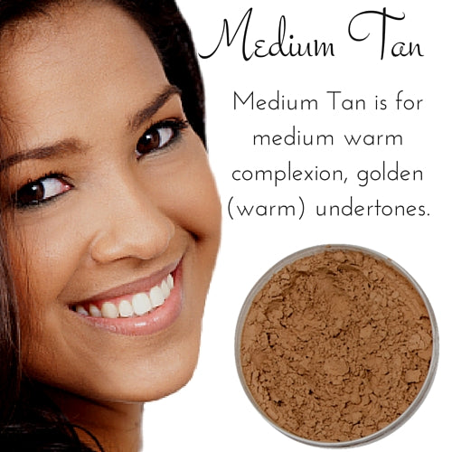 Medium Tan - Full Coverage Matte Loose Mineral Foundation - Bulk