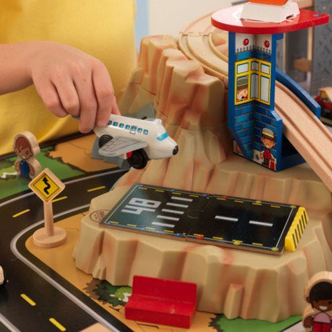 Metropolis Train Set And Table