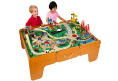 Limited Edition Waterfall Mountain Train Table & Train Set