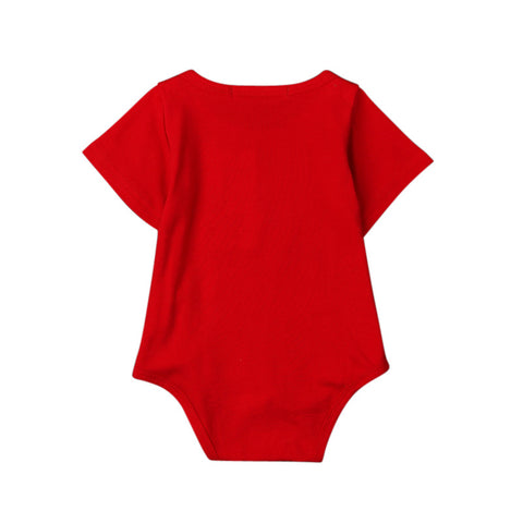 2017 Summer Style Baby Rompers Baby Girls Clothes Cotton Christmas Romper Newborn Jumpsuits Ropa Bebes Baby Boy Clothes DS40