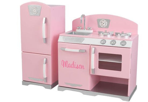 Pink Retro Play Kitchen by KidKraft - FREE SHIPPING!