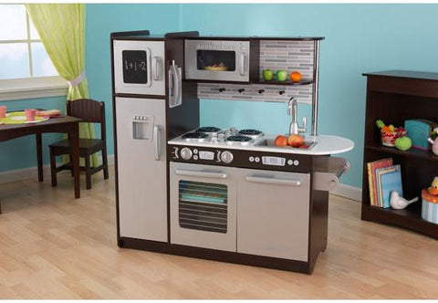 KidKraft Uptown Espresso Play Kitchen - FREE SHIPPING!