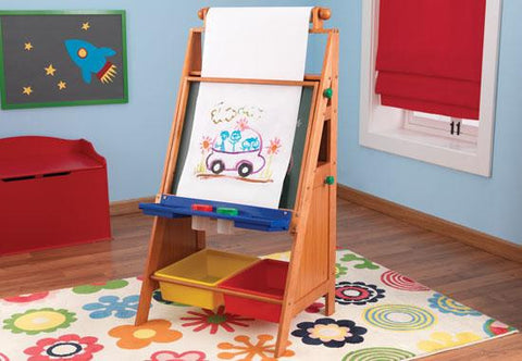 Easel Desk with Storage, KidKraft, Toys, Art, New