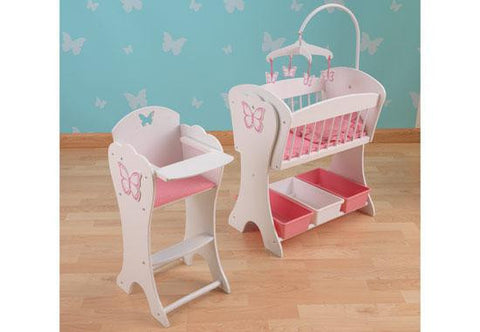 Pretty Butterfly Doll Furniture Set, KidKraft, Toys, Dollhouse, New, Play Furniture