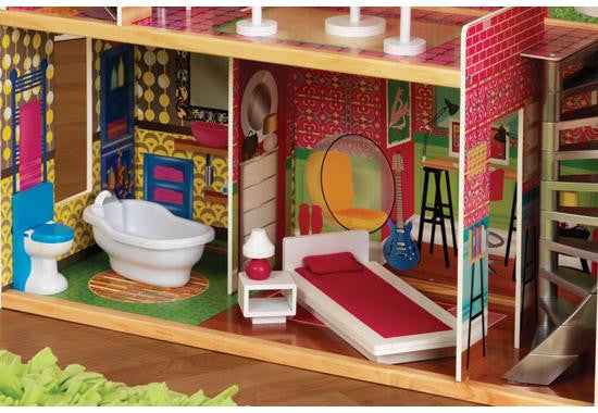 Designer Dollhouse by KidKraft - FREE SHIPPING! | PeePosh on technical drawing and design, house structure design, google sketchup house design, cnc house design, engineering house design, radiant heating installation and design, art house design, top house design, business house design, box structure design, classic house design, support structure design, japanese tea house design, building structure design, fab house design, manufacturing house design, 2d house design, solidworks house design, autocad 3d design, architecture house design,